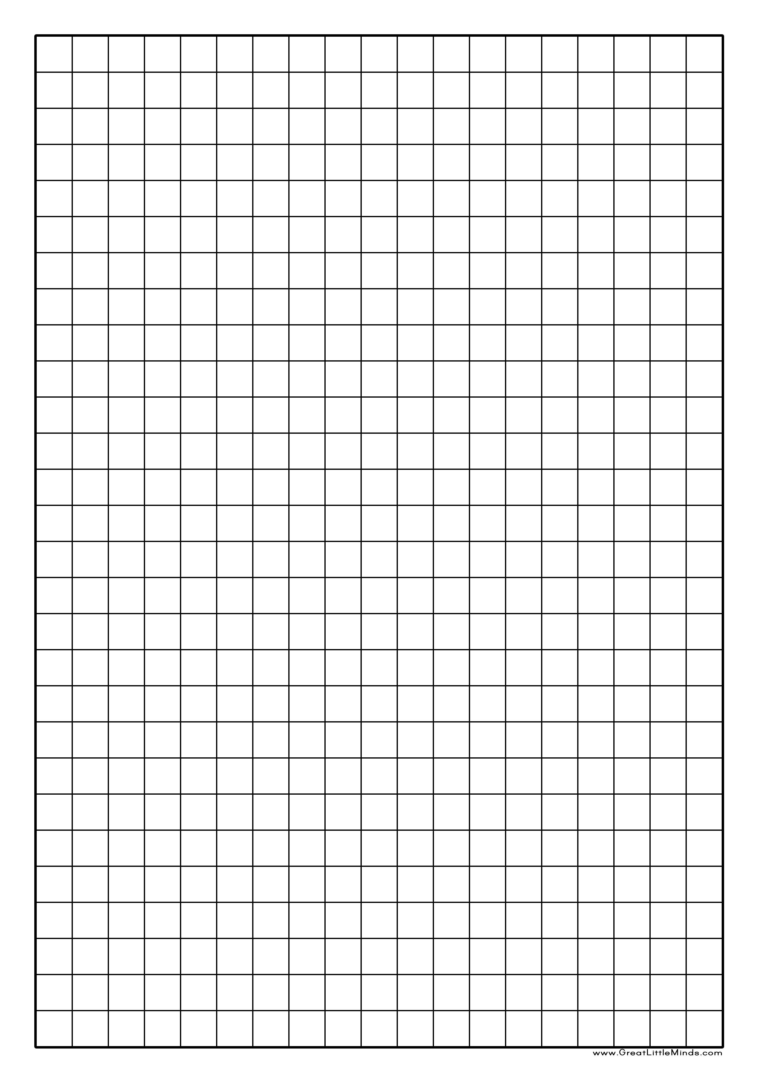 Graph Paper Free Download Template - Cover