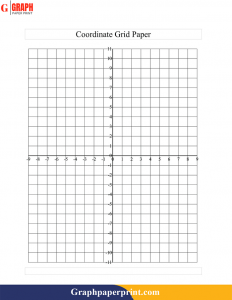 Printable Graph Paper For Maths