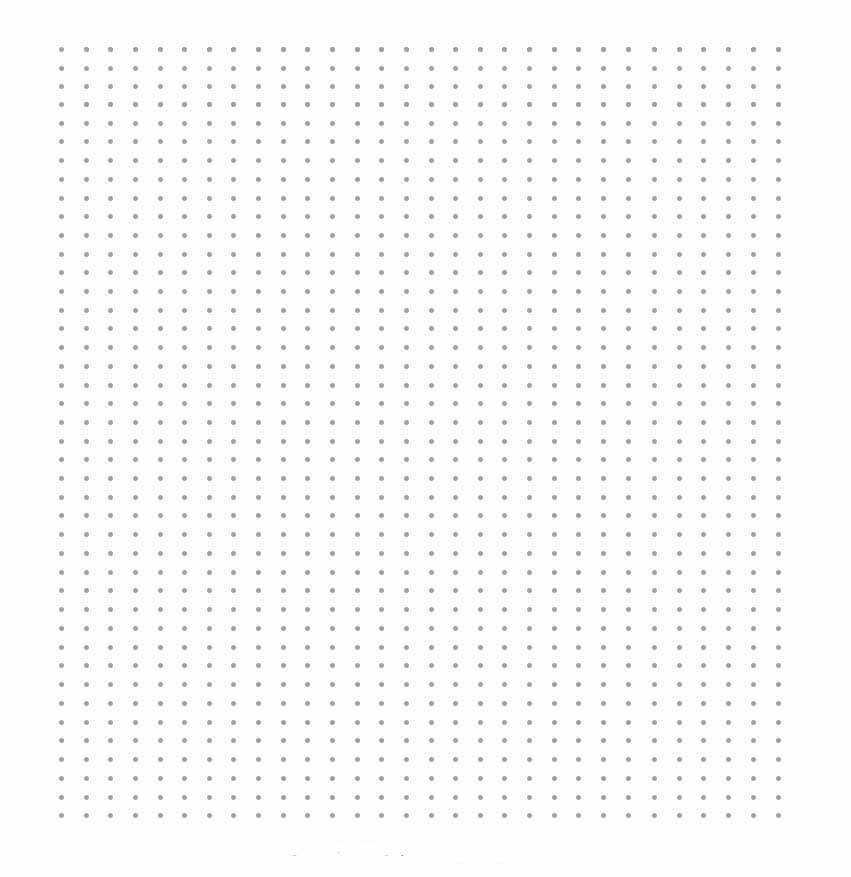 Dot Grid Paper Template