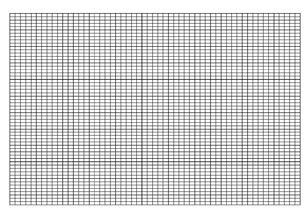 Printable Knitting Graph Paper Template