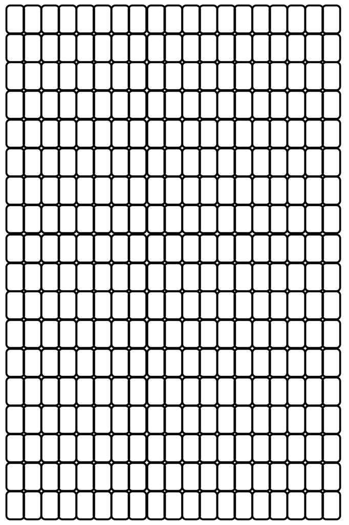 Seed bead Grid Paper PDF