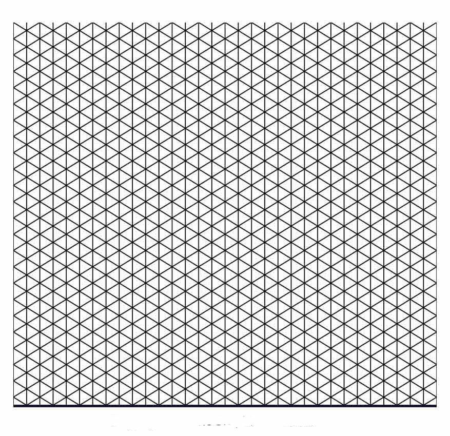Printable Isometric Graph Paper